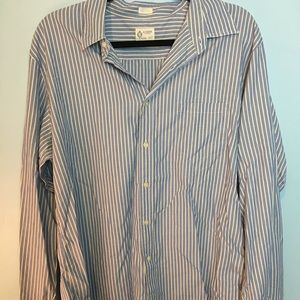 J-Crew X-Large men's button up dress shirt